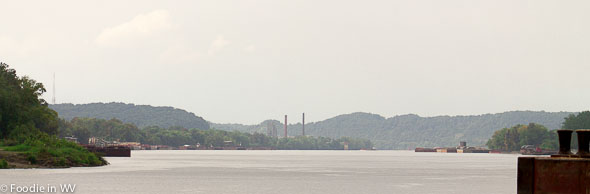 Where the Big Sandy and Ohio River Meet (Kenova, WV)
