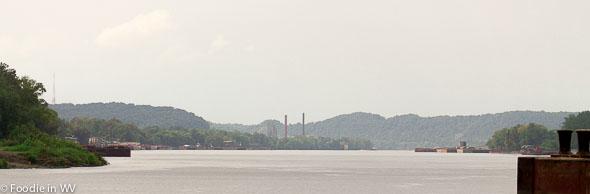Where the Big Sandy and Ohio River Meet (Kenova, WV)