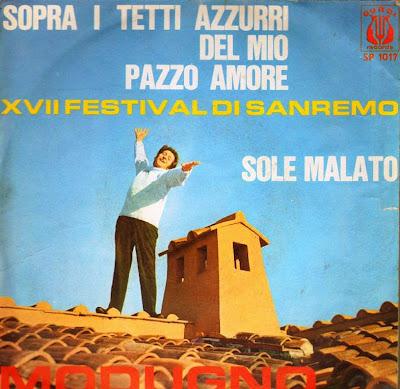 Domenico Modugno Sopra I Tetti Azzurri Del Mio Pazzo Amore