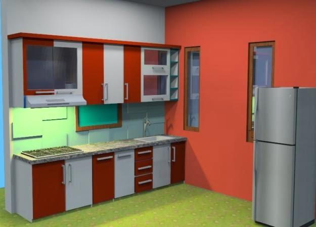 Dapur rumah minimalis sederhana 1