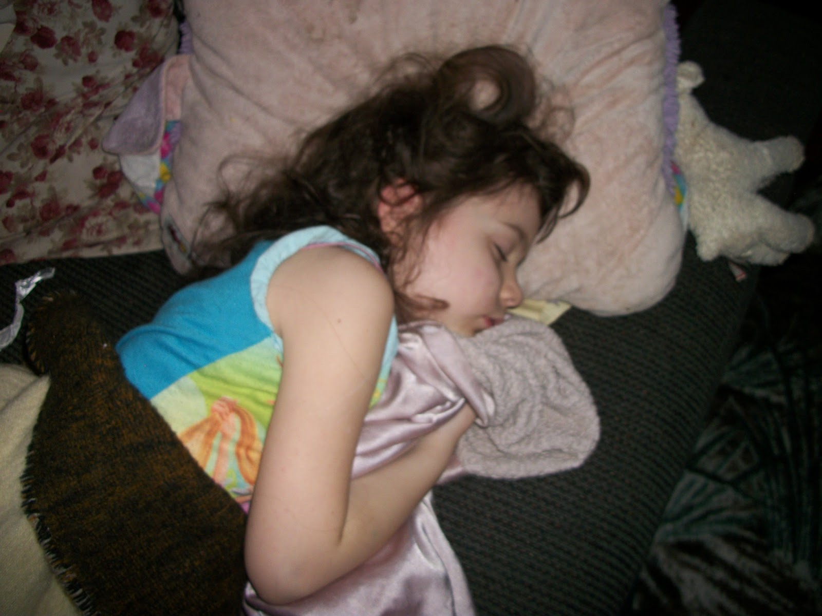 my sister sleeps nude