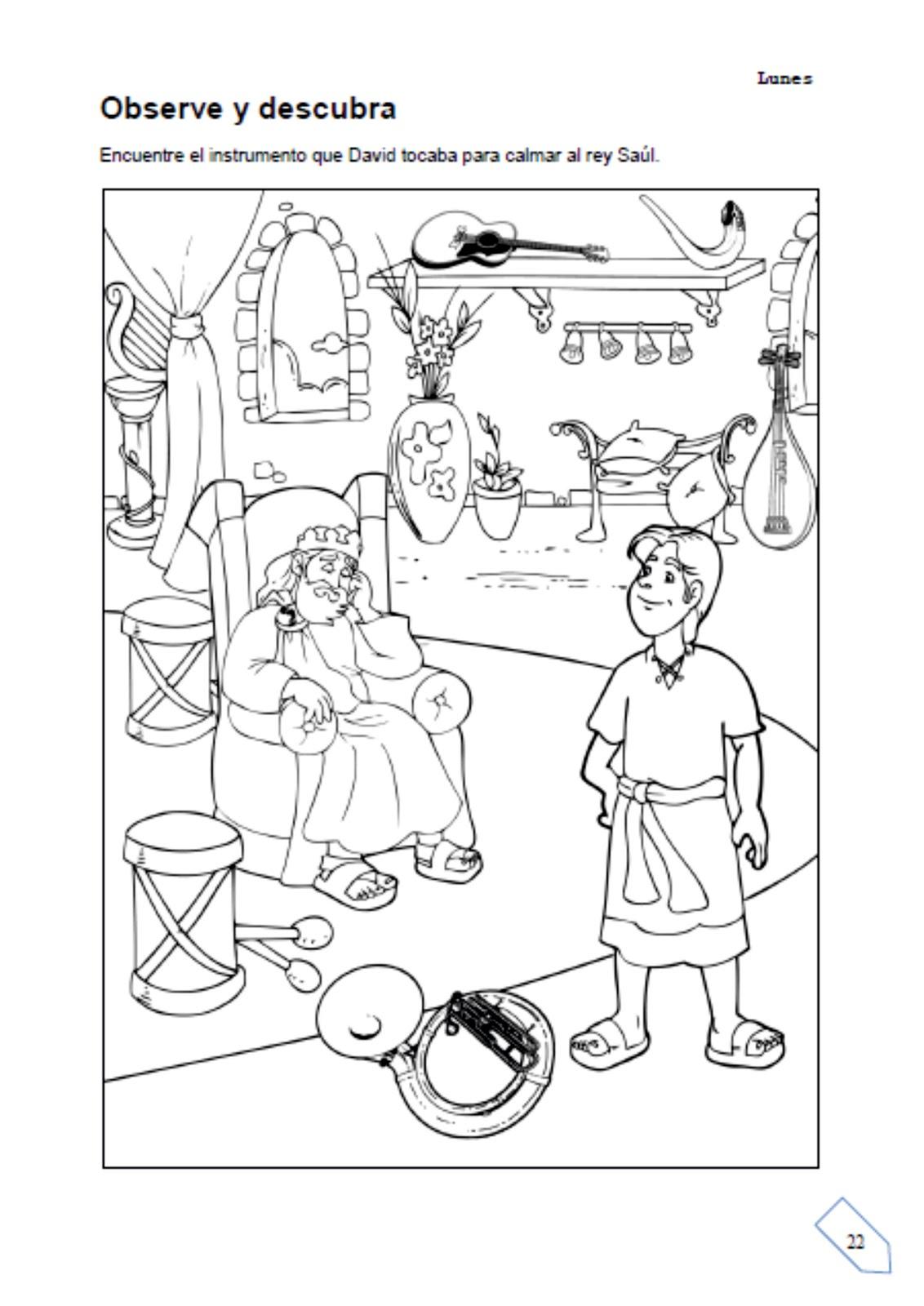 Unidad 1 El Perd 243 N De David Escuelita Biblica Infantil