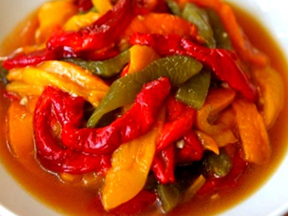 Ensalada de pimientos asados trucos y consejos para cocinar - Cocinar pimientos asados ...