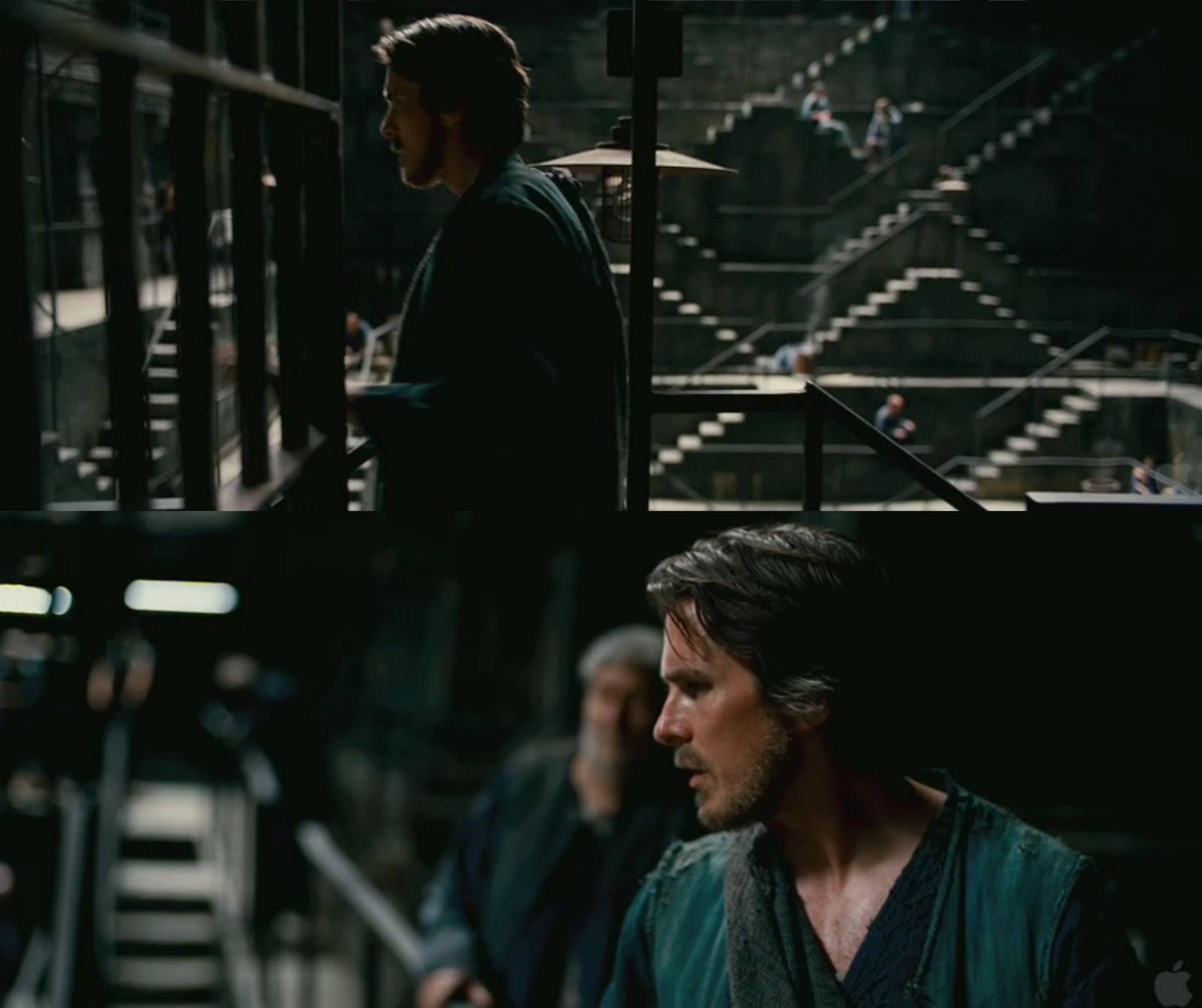The Dark Knight Rises official trailer, screenshot breakdown