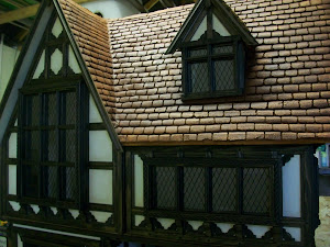 Cockrell Hall Tudor Dollhouse 2012