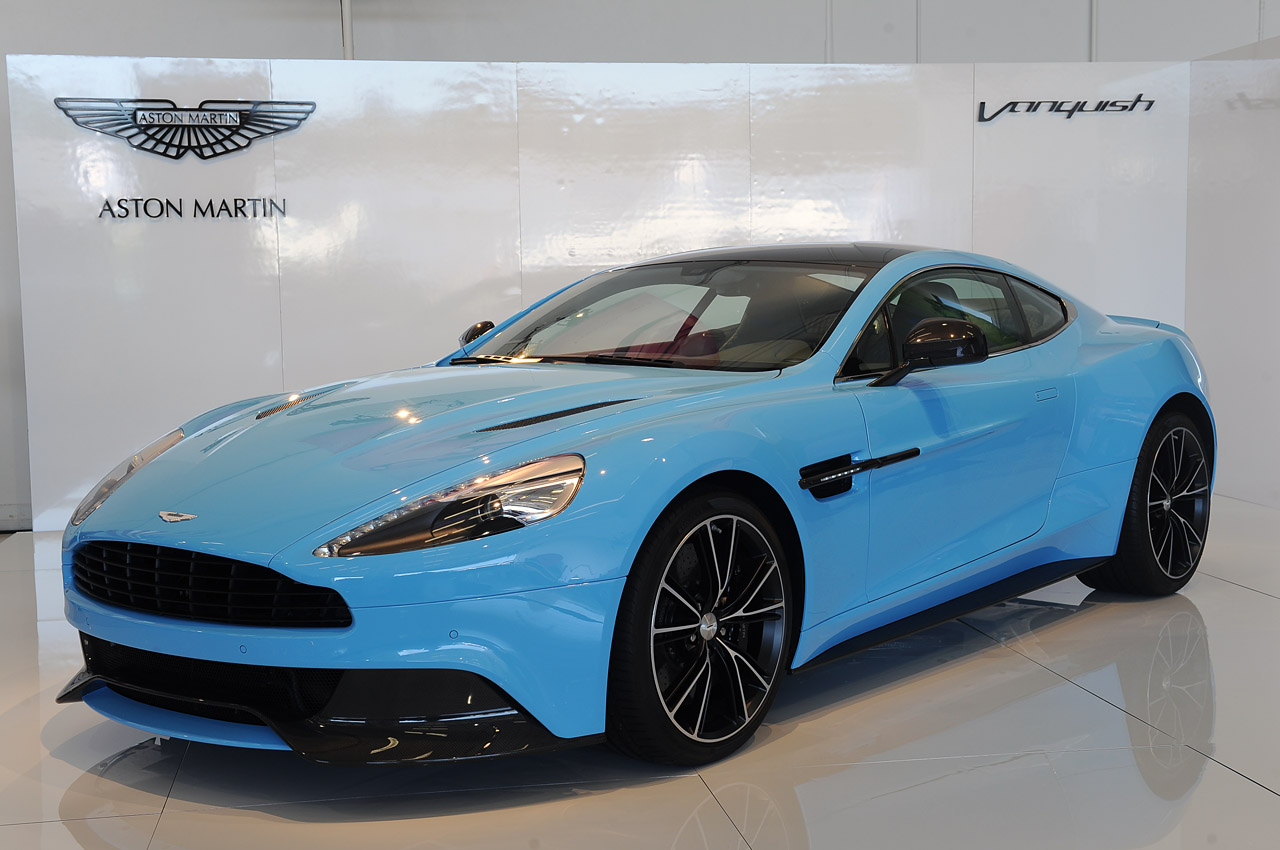 Lo And Behold, The 2013 Aston Martin Vanquish Underpinnings Appear To  Confirm By Bezu0027s Vision.