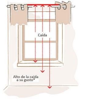 Como poner cortinas aprender hacer bricolaje casero for Como poner ganchos cortinas