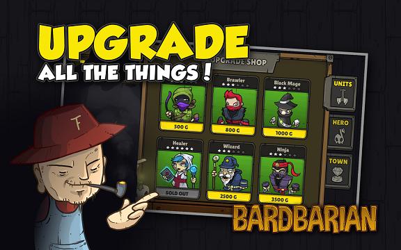 Bardbarian android game