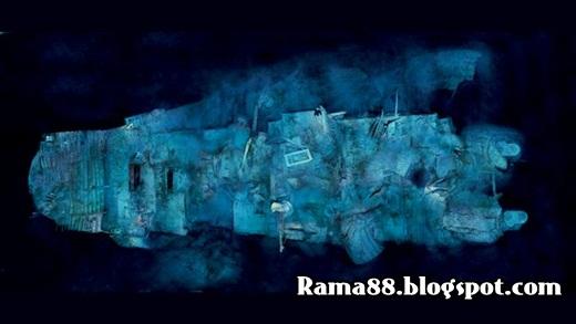 foto titanic tenggelam
