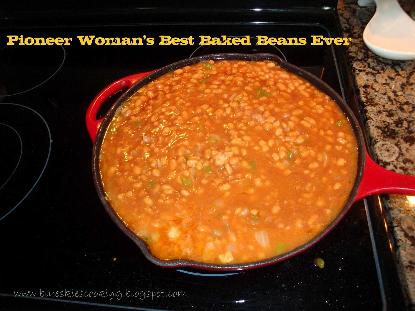 Tastefully Done: Pioneer Woman's Best Baked Beans Ever