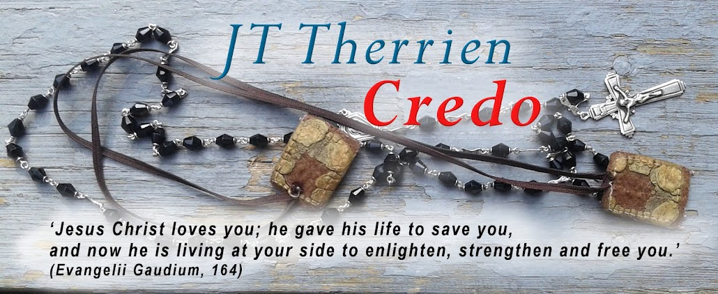 Credo. JT Therrien Author Blog