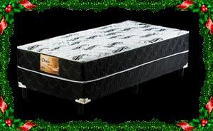 CAMA BOX DOBLÔ ORTOLITE CASAL: 349,00 À VISTA
