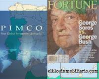 Soros Pimco activos inmobiliarios España elbloginmobiliario