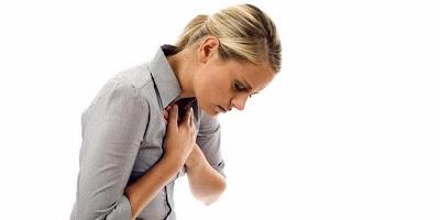 heart attack symptoms woman: