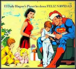 Navidad  juevera en el Daily Planet.