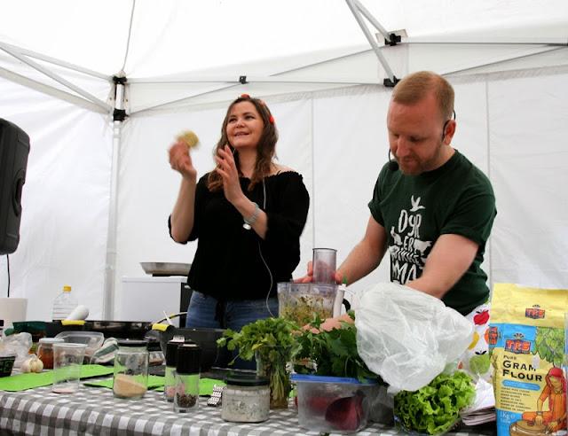 Oslo Vegetarfestival 2015 Veganmisjonen Veganmannen Kokkekurs Protein Veganmat Veganplan