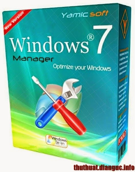 Download Windows 7 manager 5.1.1 Full Crack – Tăng tốc hệ thống manager