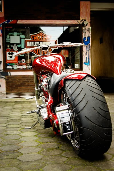 Modifikasi Harley Davidson Pro Street1