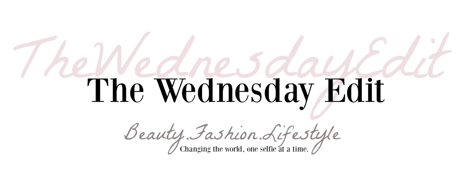 The Wednesday Edit