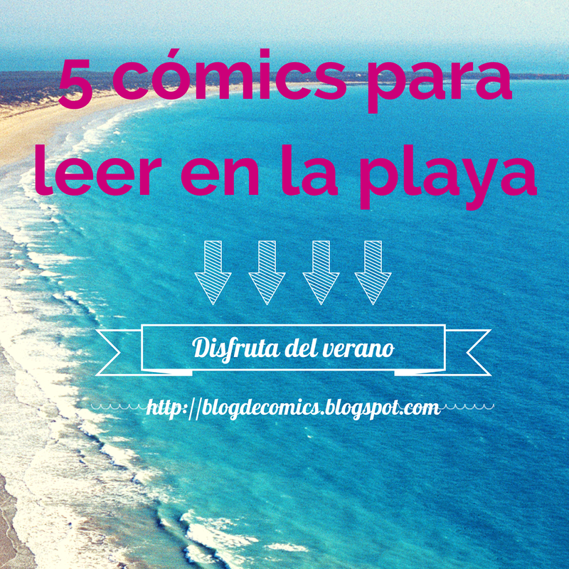cinco comics para leer en la playa