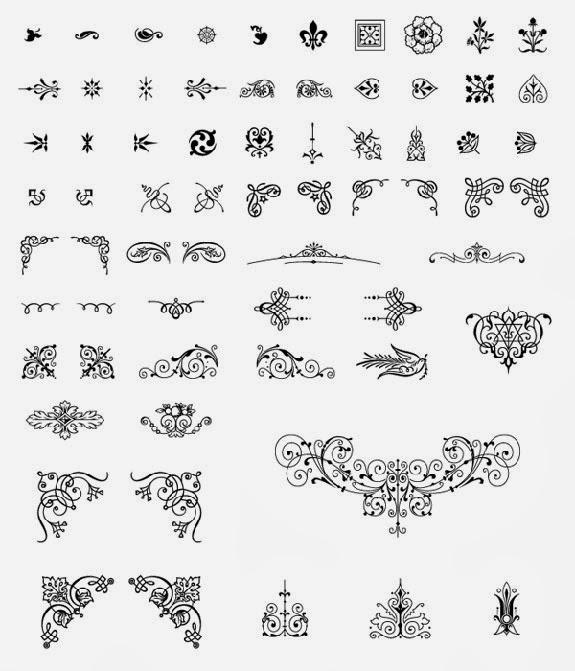 Download Free Vector Ornaments
