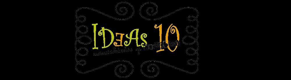 IDEAS 10 manualidades y Scrapbook