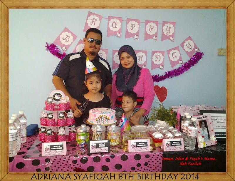 Syafiqah's 8th Birthday