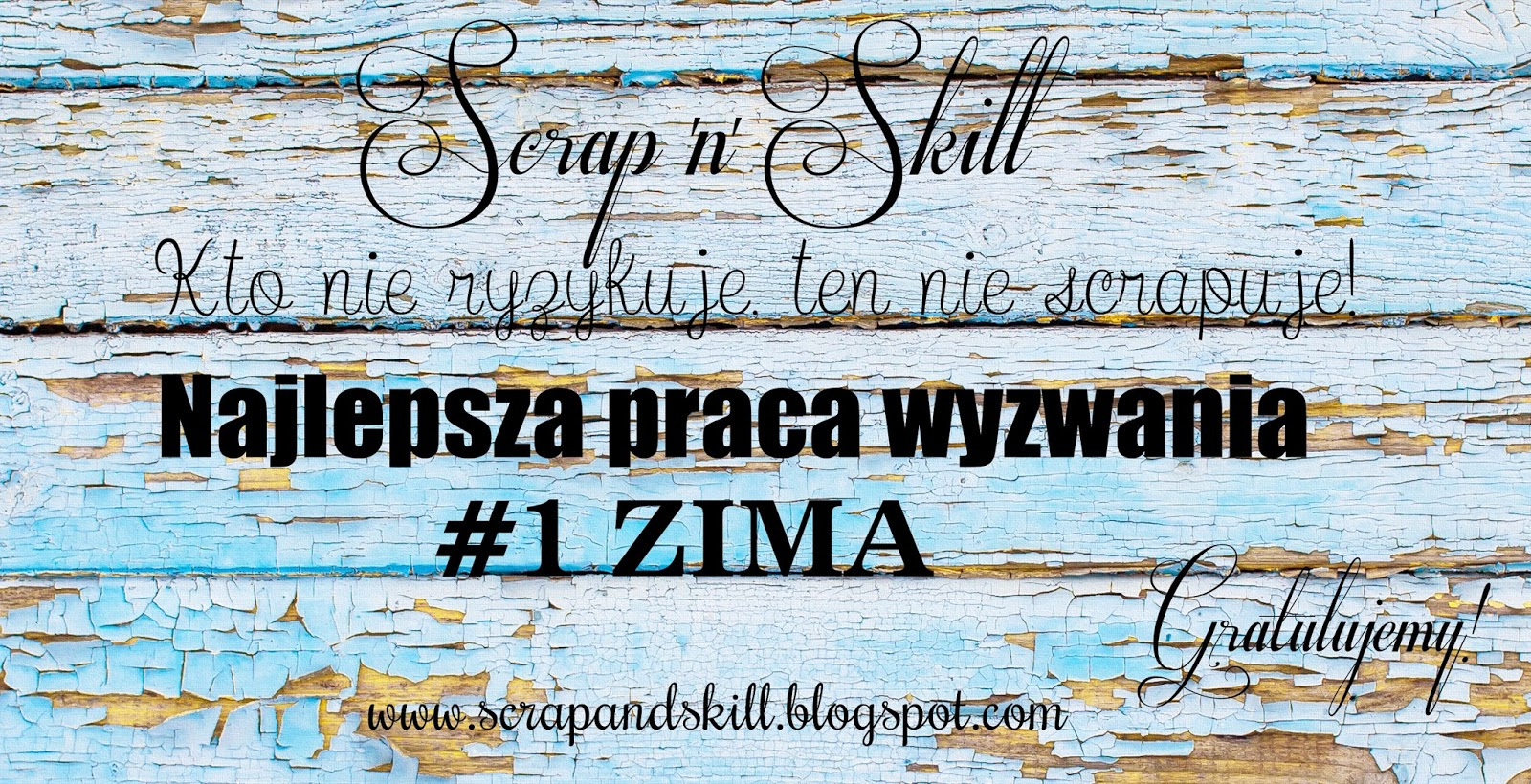 Scrap'N Skill Winner