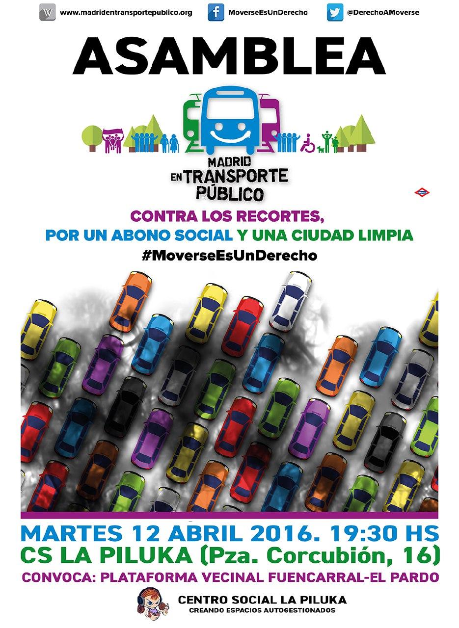 12 abril Asamblea Abono Social