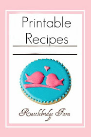 Printable Recipes Available