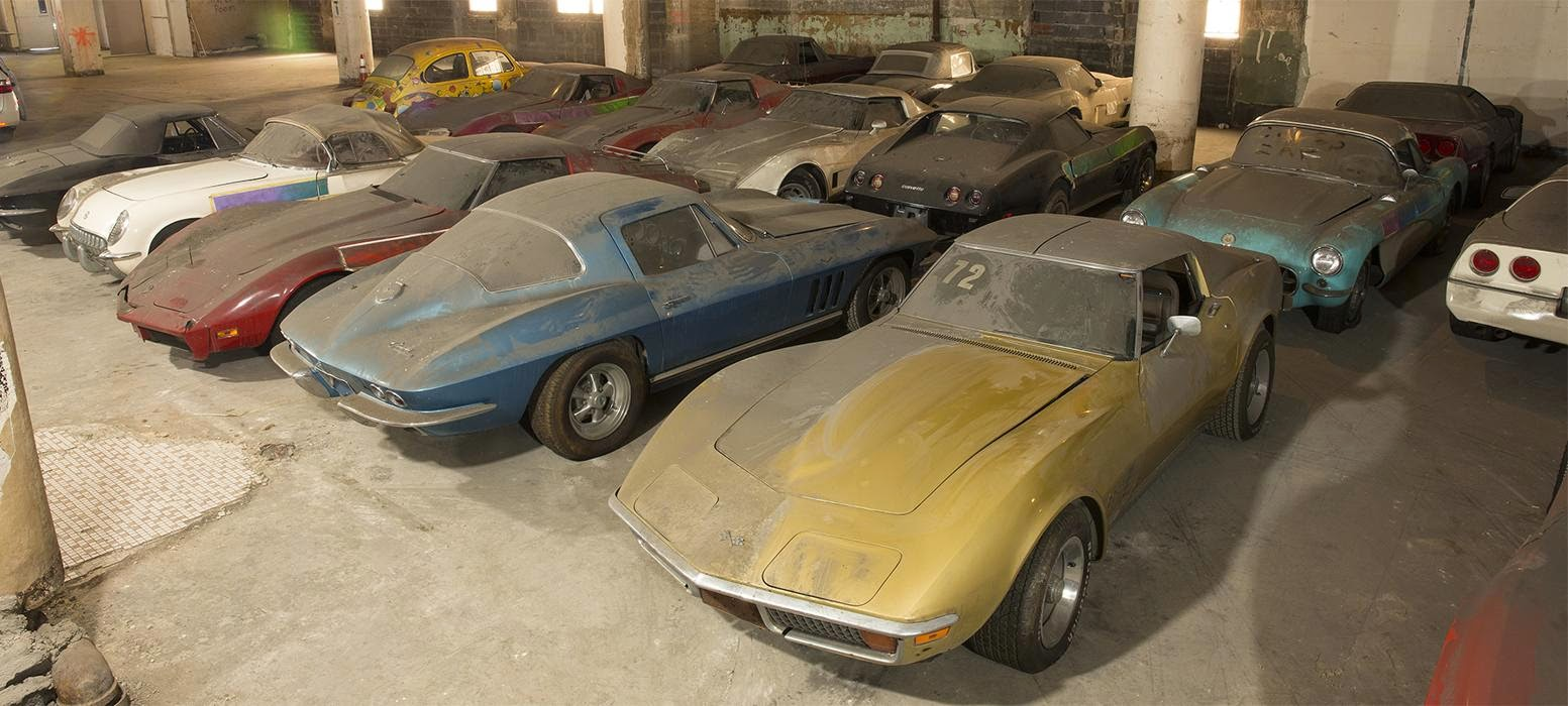 A Long Forgotten Collection of Corvettes Emerges After 25 Years ...