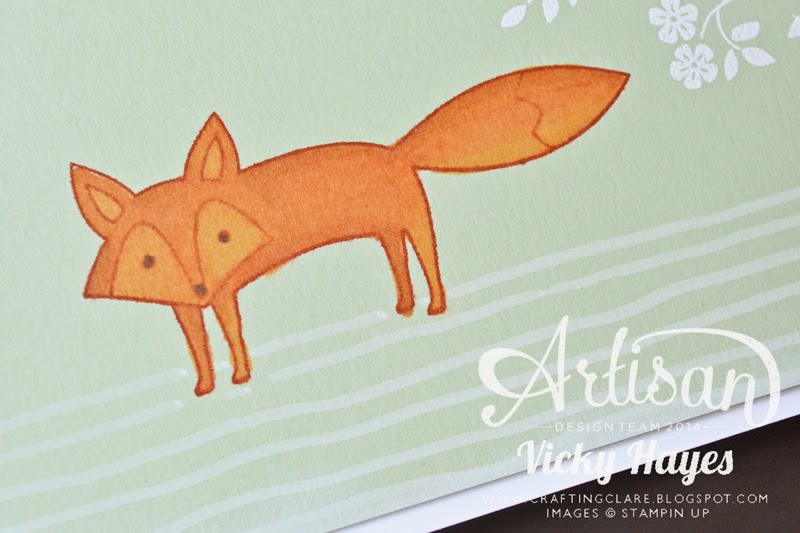 UK independent Stampin' Up demonstrator Vicky Hayes gives blendabilities tips in this blog post