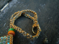 how to make finger crochet cord for necklace