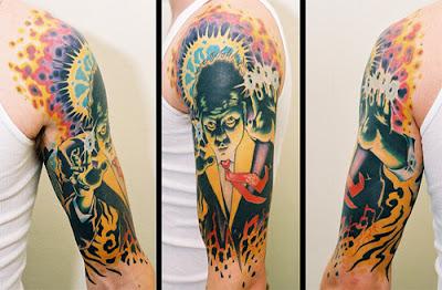 Imagens de desenhos de Tatuagens Coloridas