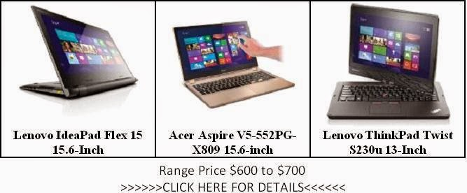 The List of Laptops Price $600 to $700