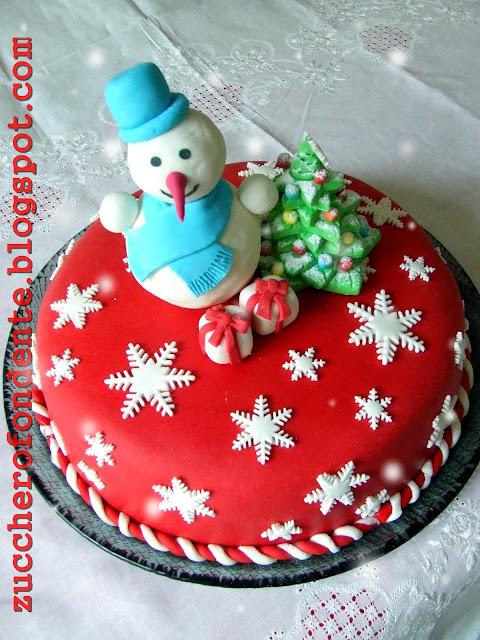Zuccherofondente decorazioni natalizie in pasta di zucchero - Decorazioni natalizie per torte ...