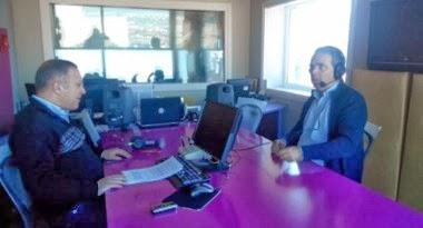ΑΟΖ - Συνέντευξη Ν.Λυγερού στο Radio 98.4, Γ.Σαχίνης.