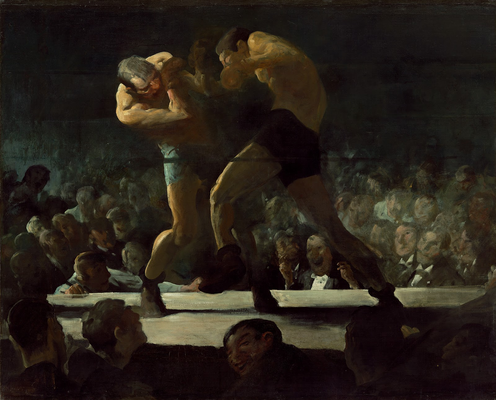 the life and works of george wesley bellows George wesley bellows was a highly acclaimed american artist, known for his bold, realist paintings and lithographs of new york city life.