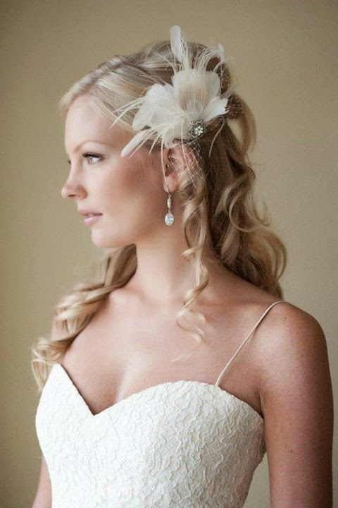Latest Bridal Hair Style Trends #1