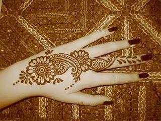 Hand Henna Mehndi Tattoos
