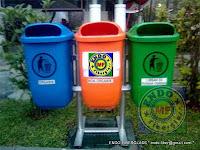 Tempat Sampah Oval