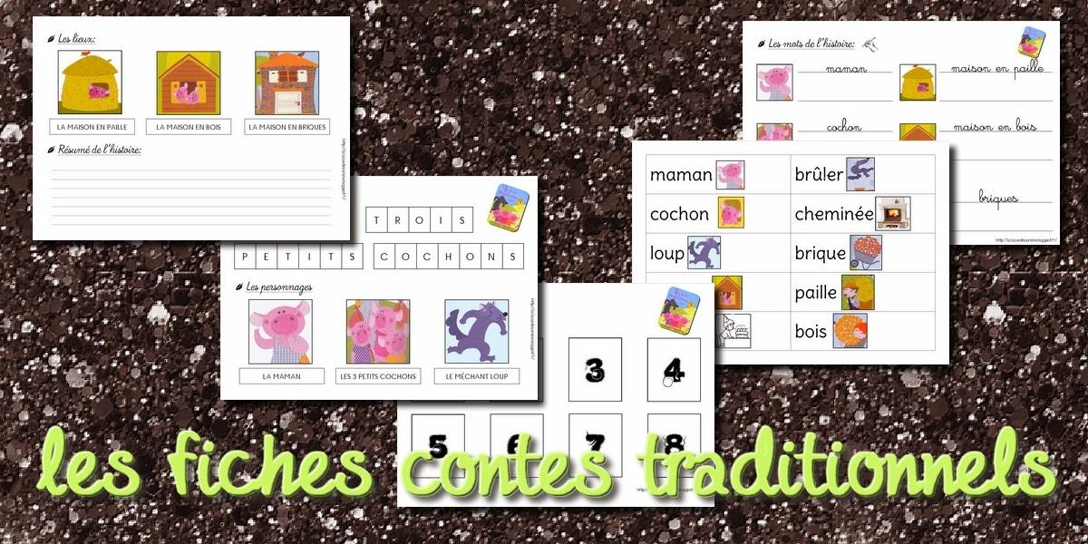 Favorit La maternelle de Laurène: Le cahier de contes - les fiches contes UB55