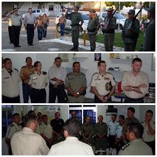 Secretário de Segurança e Comandante Geral visitam 2º BPM