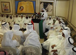 تغطية شاملة لاجتماع الاغلبية في ديوان العم أحمد عبدالعزيز السعدون 16-7-2012