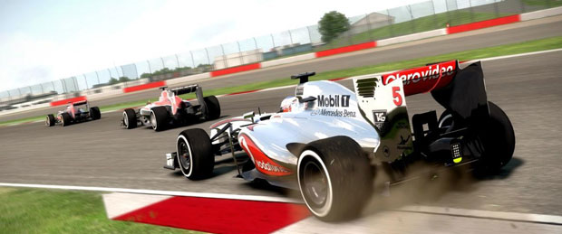 F1 2013 Monza Hotlap Gameplay Footage