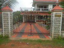 Kerala Home Gate Design