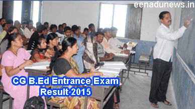 CG Vyapam Pre B.Ed Result 2015 Released on www.cgvyapam.choice.gov.in. Chhattisgarh B.Ed Entrance Test Result 2015 Today, CG B.Ed Exam Cut Off and Result Date 2015, CG Pre Examination B.Ed Result 2015 with Score Card