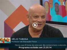 Mestre Tabosa na TV Câmara