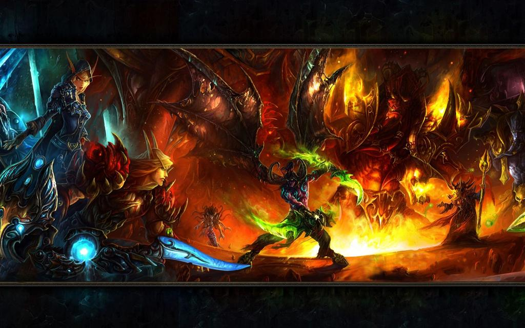 World of Warcraft HD & Widescreen Wallpaper 0.465515334294507