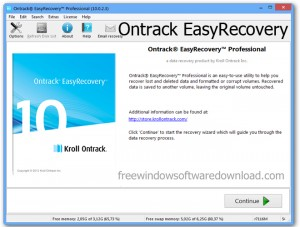 Ontrack EasyRecovery Pro 11 Crack With Serial Key Full Version Free Download